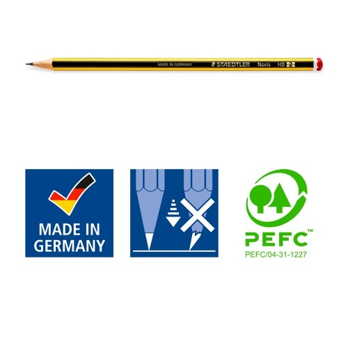 Noris HB-2 Bleistifte einzeln