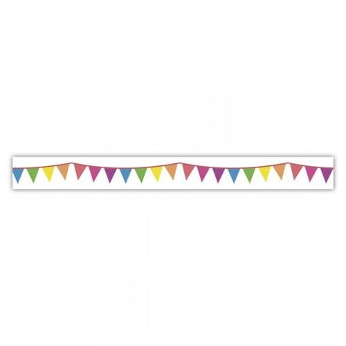 Klebeband Washi Tape Party Wimpel Ø 15mm, 15m