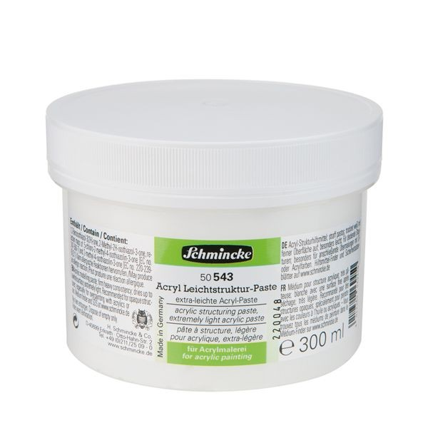 Schmincke Acryl Leichtstruktur-Paste 300ml