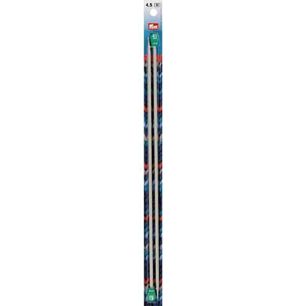 PRYM Jackenstricknadeln 35cm, 4,5mm, Aluminium