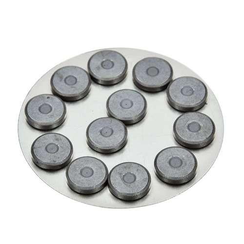 Rundmagnete rund Ø 14 mm, 12 Stück