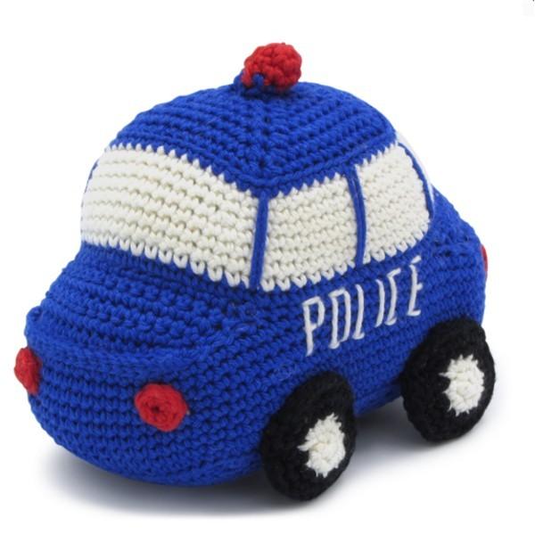 Häkelset Polizeiauto (AMIGURUMI)
