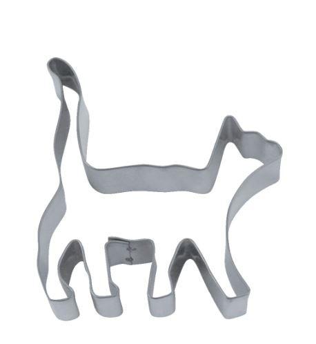 Präge-Ausstechform Katze 8,5 cm aus Edelstahl