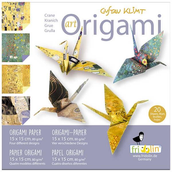 "Origami Faltblätter 80g/m² 15x15cm - 20 Blatt ""Klimt"""