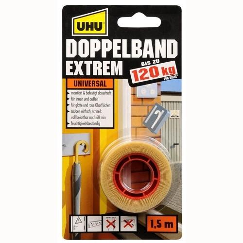 UHU Ø 19mm, Doppelband EXTREM 120kg