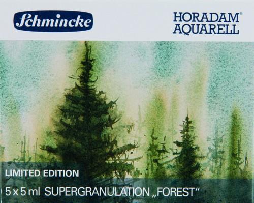 """HORADAM """"FOREST"""" Aquarell Set 5 x 5ml Supergranulation"""