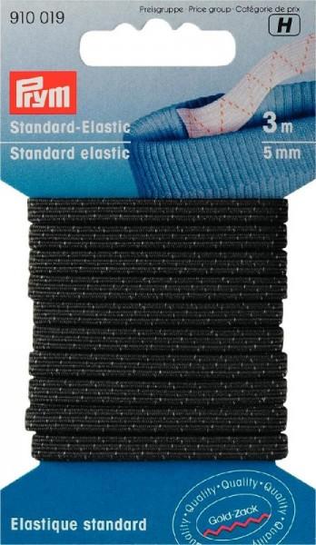 Standard-Elastic 5mm schwarz PRYM 910019