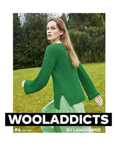 Wooladdicts Nr. 6 (#6) + How-To Knitting Instructions