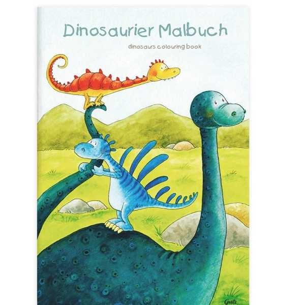 Malbuch Dinosaurier DIN A4, 16 Seiten