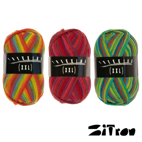 Sockenwolle ATELIER ZITRON Trekking Color XXL