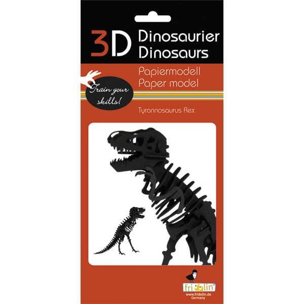 "3D Papiermodell ""Tyrannosaurus Rex"" zum zusammenbauen"