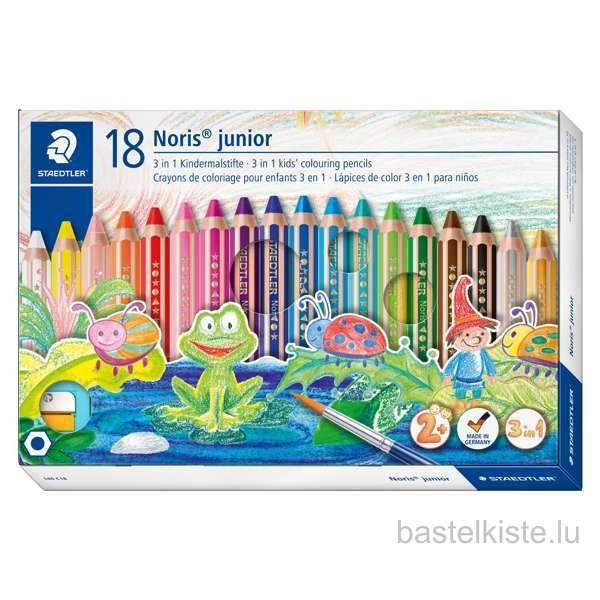 Kindermalstifte Noris JUNIOR 18er-Set