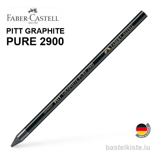 Pitt Graphite PURE 2900, Graphitstifte einzeln in HB 6B 9B