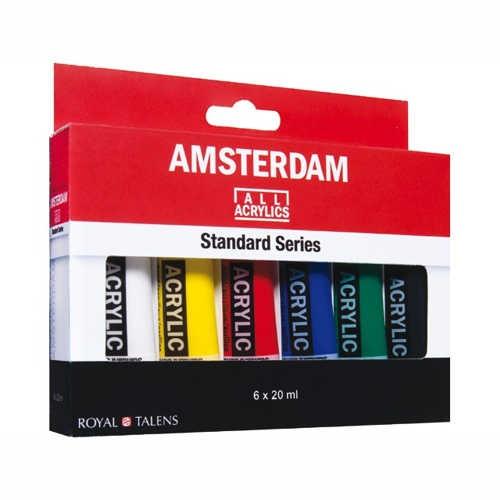 AMSTERDAM Primär-Set Acrylic 6 x 20ml