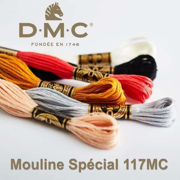 DMC Mouline Spécial Stickgarn 117MC, 8m wollzauber.com