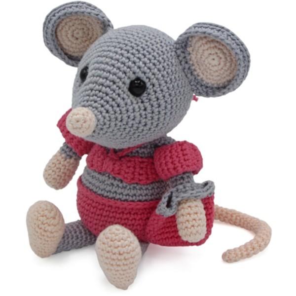 HäkelSet Daisy die Maus AMIGURUMI