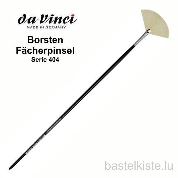 Borsten-Fächerpinsel, Serie 404 langer Stiel