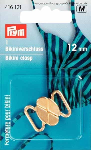 Bikini- und Gürtelverschluss, goldfarbig Prym 416121