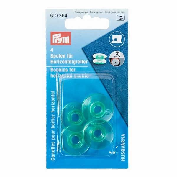 Nähmaschinenspulen, Horizontalgreifer, 21,6mm für HUSQVARNA & PFAFF