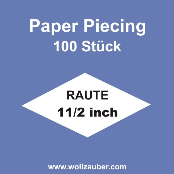 Templates Paper Pointed Star 1,5 inch, 100 Stk. raute