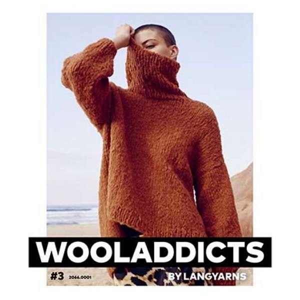 Strickanleitung Wooladdicts Nr. 3 #3 Lang Yarns wollzauber