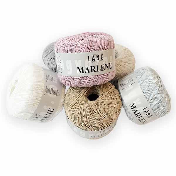 Wolle von LANG YARNS ✅ Marlene 50g ✅ Kostenlose Lieferung ab 20€ DE, LU ✅ Große Auswahl ✅ Trusted Shops zertifiziert ✅ Qualität beim stricken erleben