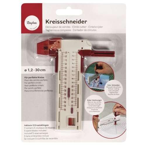 verstellbarer Kreisschneider von 1,2 bis 30 cm