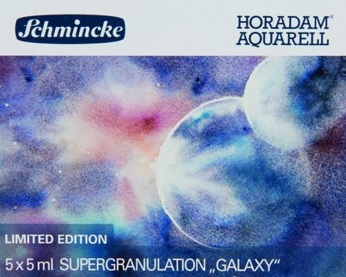 """HORADAM """"GALAXY"""" Aquarell Set 5 x 5ml Supergranulation"""