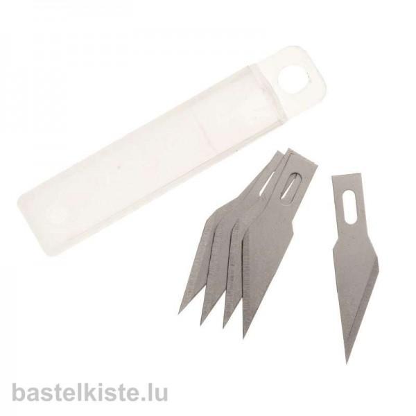 Ersatzklingen für Profi-Bastelmesser, 5 Stück