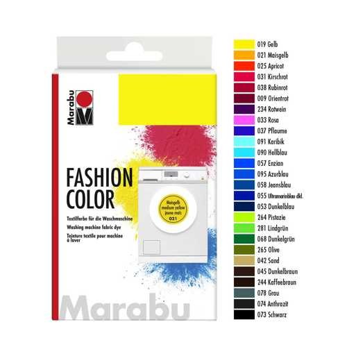 Waschmaschinenfarbe FASHION Color 30g