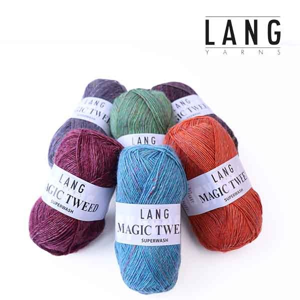 Lang Yarns 943 Magic Tweed Superwash wollzauber