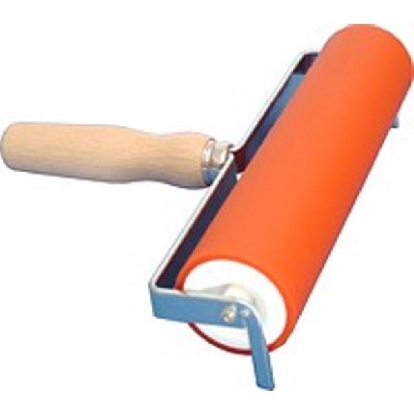 Farbwalze mit Holzgriff 200mm, Ø 50mm