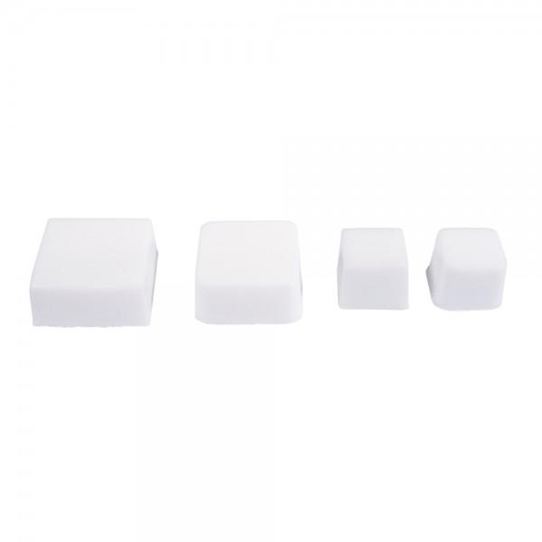 Seifengießform: Quadrate 4-tlg.