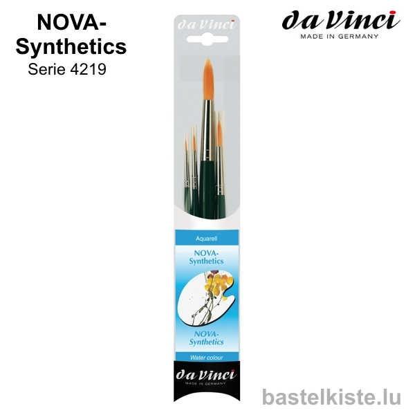 Da Vinci NOVA Synthetics Pinsel-Set 4219