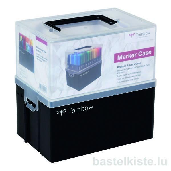Leerbox, Case für TOMBOW Stifte, Marker