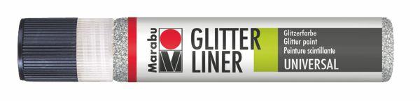 582 Glitter-Silber