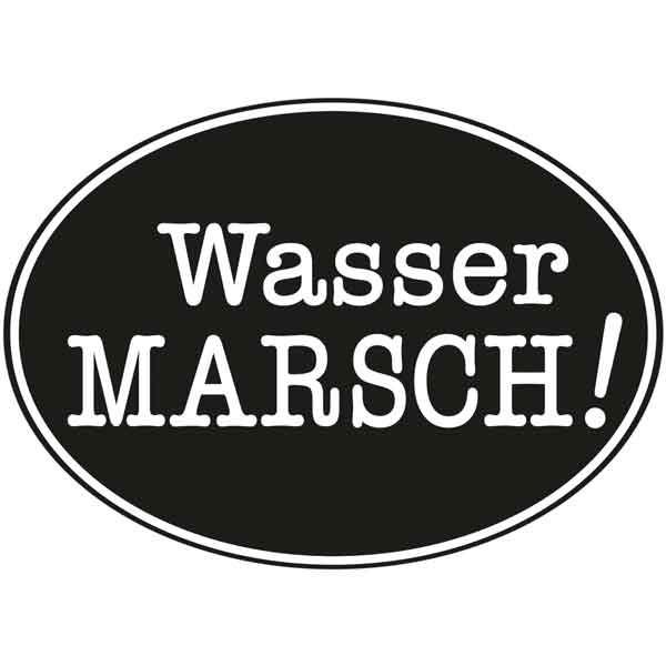 """RAYHER Seifenlabel """"""""Wasser Marsch!"""""""