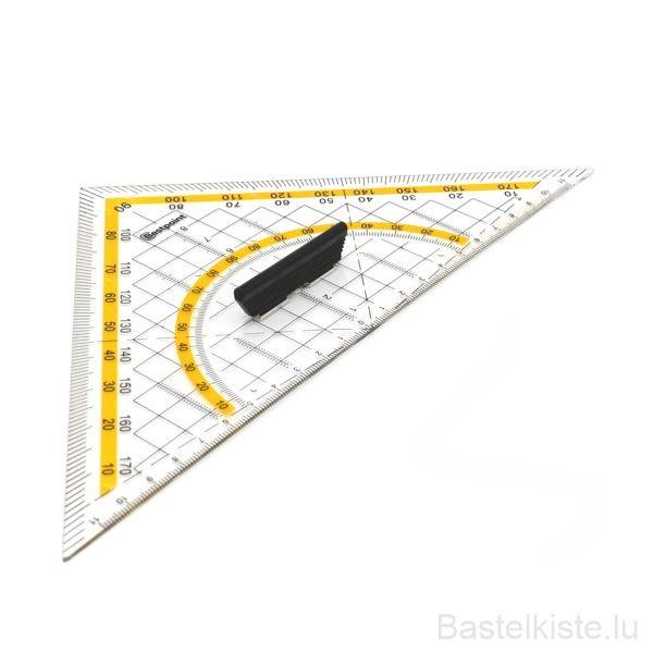Kunststoff Geodreieck 25cm