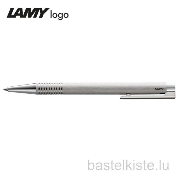 LAMY Kugelschreiber logo brushed M