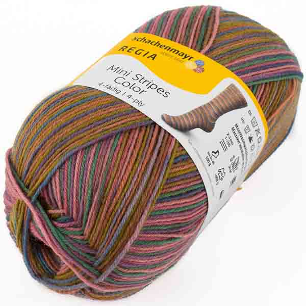 SCHACHENMAYR Regia Mini Stripes Color 100g