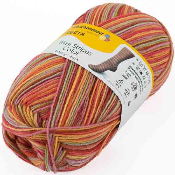 SCHACHENMAYR Regia Mini Stripes Color 100g