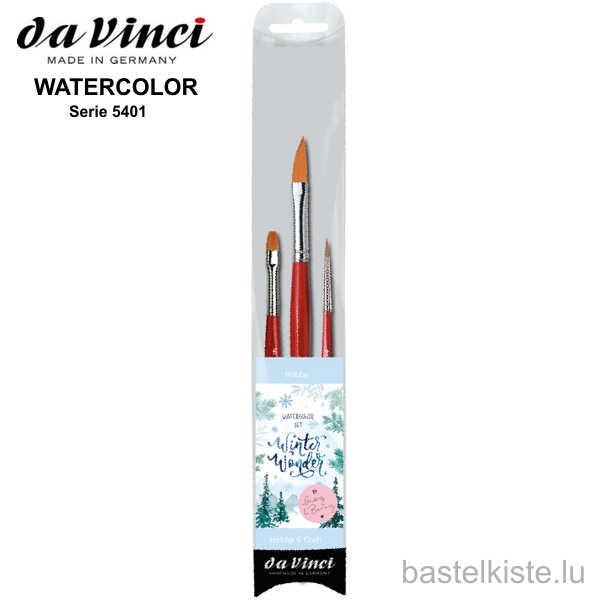 "Aquarellpinsel-Set 5401 ""Winter Wonder"""
