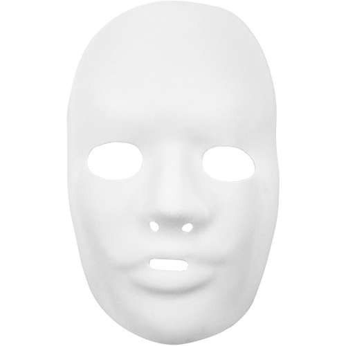 Vollmaske, Gesichtsmaske mit Befestigungsgummi