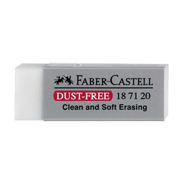 Dust-free Radierer, weiß