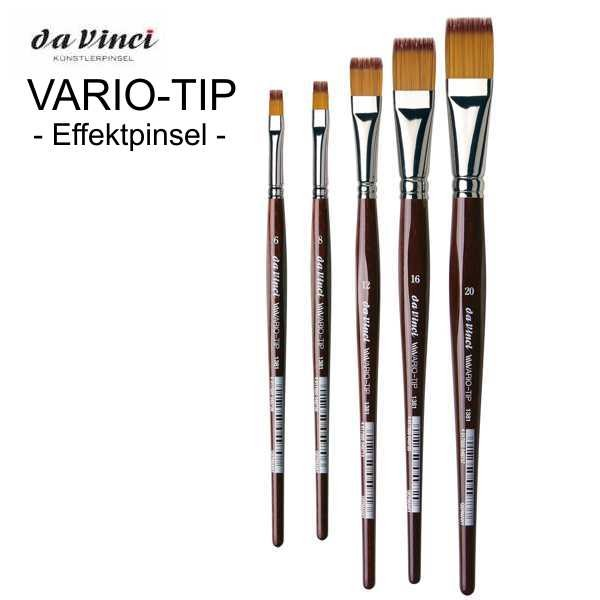 """Effektpinsel """"VARIO-TIP"""" Serie 1381 von Da Vinci"""
