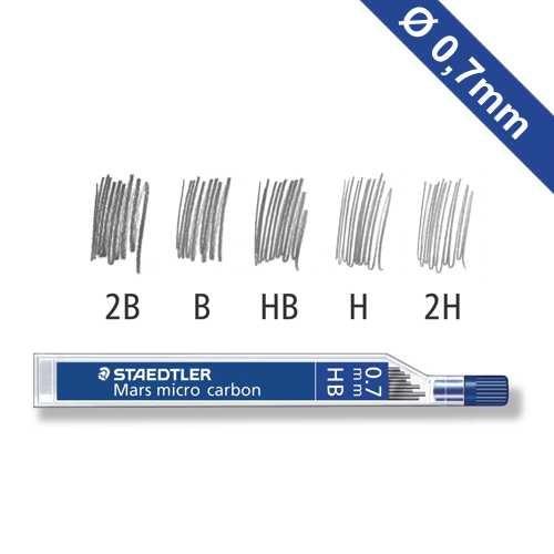 Nachfüllminen für Druckbleistift Ø 0,7 mm