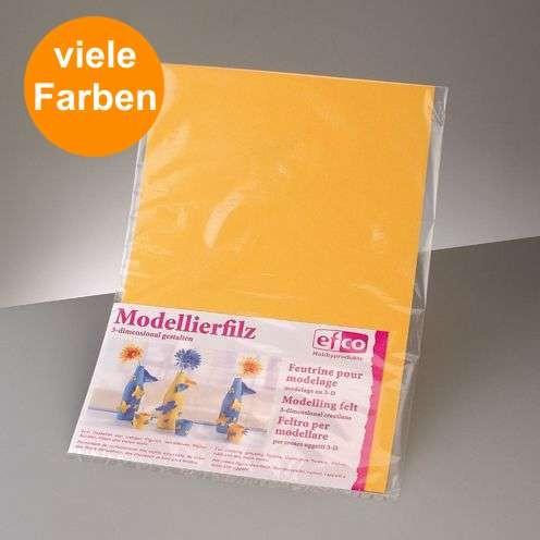 Modellierfilz für Dekorationen 30 x 45cm, Ø 1,8mm