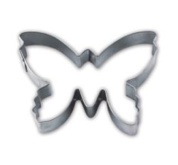 Präge-Ausstechform Schmetterling 7 cm aus Edelstahl