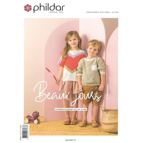 Strickanleitung Phildar 187 Kindermode