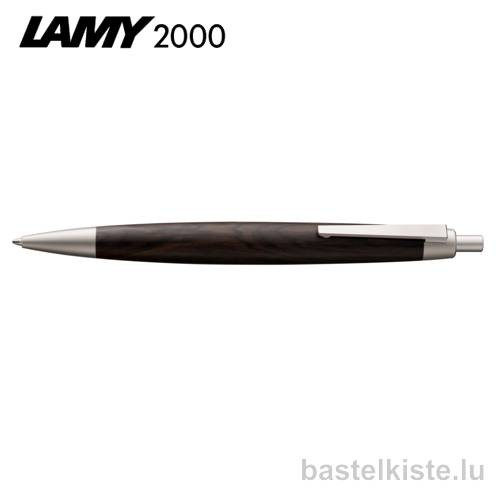 LAMY 2000 Kugelschreiber blackwood Grenadillholz